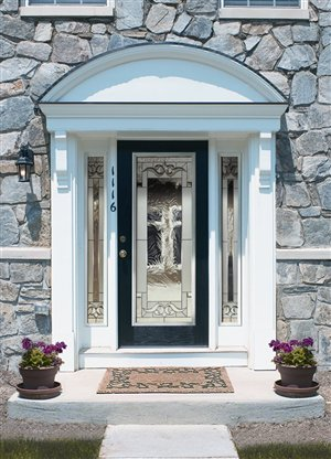 Insulated steel and fibreglass doors 6