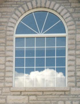 Architectural windows fersina windows for Round top windows